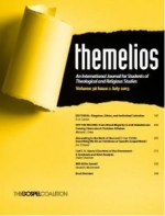 FREE: The 3 Latest Themelios Biblical/Theological Journals for Logos