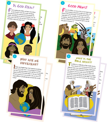 4 FREE Gospel Tracts from Answers in Genesis