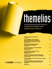 FREE: July 2014 Themelios Biblical/Theological Journal for Logos