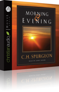 Free for January: Morning & Evening Daily Devotional by Charles Spurgeon Audiobook